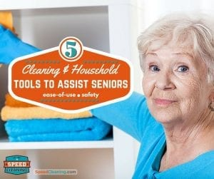 5 Cleaning & Household Tools to Assist Seniors