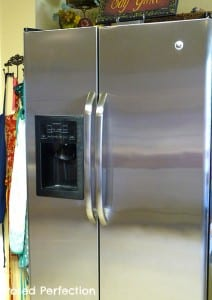 Shiny Stainless Refrigerator