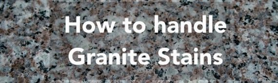 How to get rid of stains on granite